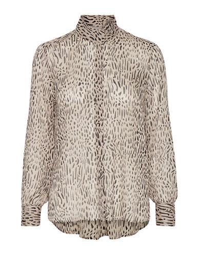Inwear Dot Collared Shirt-ASSORTED-42