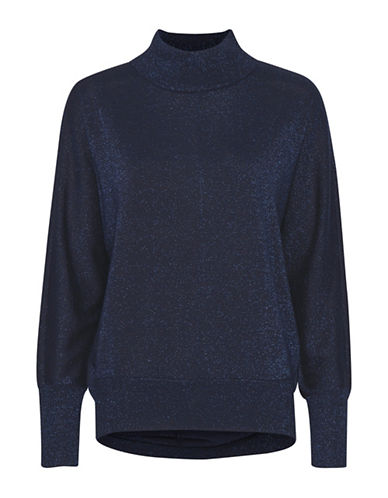 Inwear Karlee Turtleneck Sweater-BLUE-X-Small