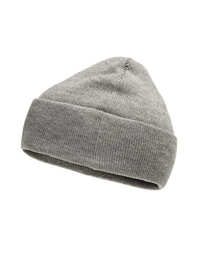 Jack & Jones Casual Knitted Beanie-GREY-One Size