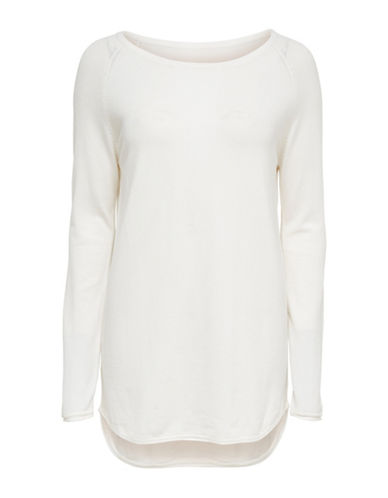 Only Long-Sleeve Pullover-WHITE-Medium 89995832_WHITE_Medium