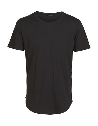 Only And Sons Matt Short Sleeve Tee-BLACK-Medium