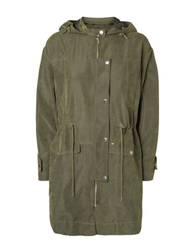 Noisy May Utility Drawstring Jacket-GREEN-X-Small 88171322_GREEN_X-Small