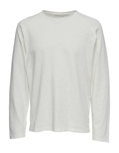 Only And Sons Raglan Sleeve Sweatshirt-BLUE-X-Large