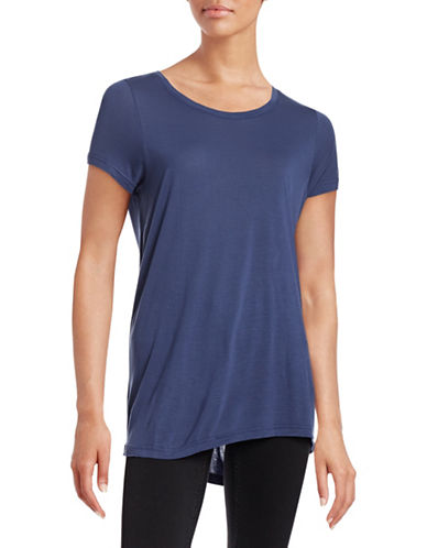 Vero Moda Joy Short Sleeve Top-BLUE-Small