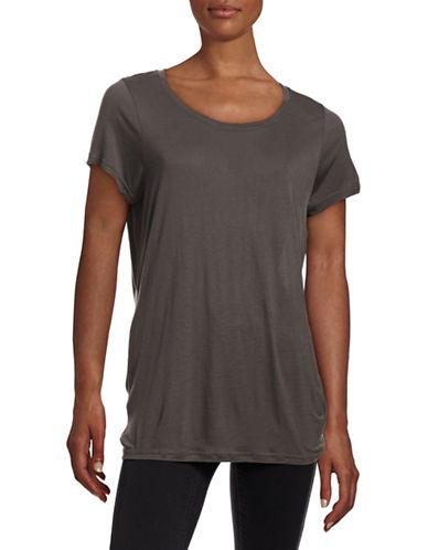 Vero Moda Joy Short Sleeve Top-DARK GREY-Large 88110594_DARK GREY_Large