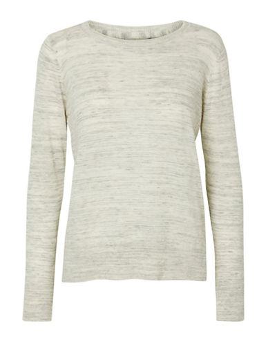 Vero Moda Ludwig Marled Sweatshirt-GREY-Small 88515601_GREY_Small