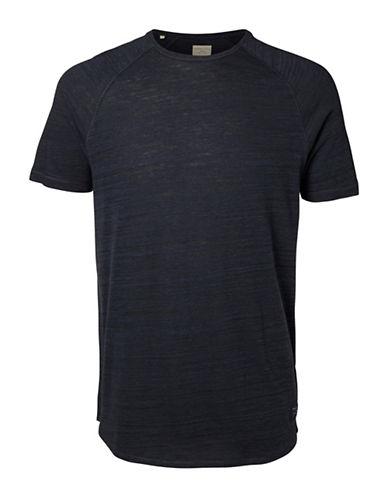 Selected Homme Bertil Raglan T-Shirt-BLUE-Large 88855355_BLUE_Large