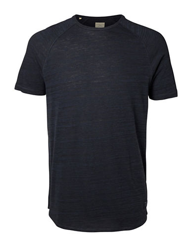Selected Homme Bertil Raglan T-Shirt-BLUE-Medium 88855356_BLUE_Medium