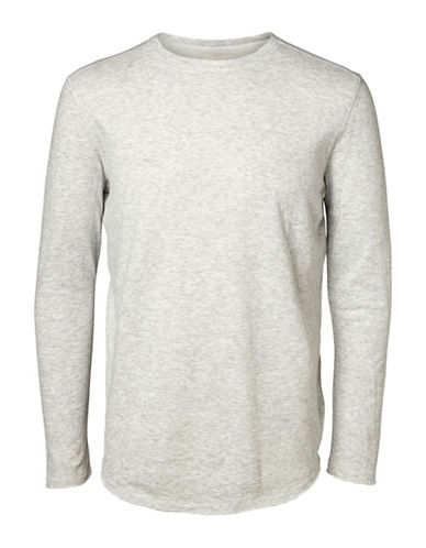 Selected Homme Ludvig Long-Sleeve Shirt-LIGHT GREY-X-Large 88637024_LIGHT GREY_X-Large