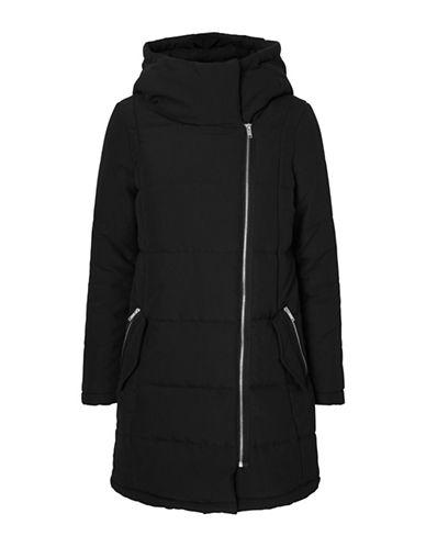 Vero Moda Melly Funnel Neck Jacket-BLACK-X-Small 88742819_BLACK_X-Small