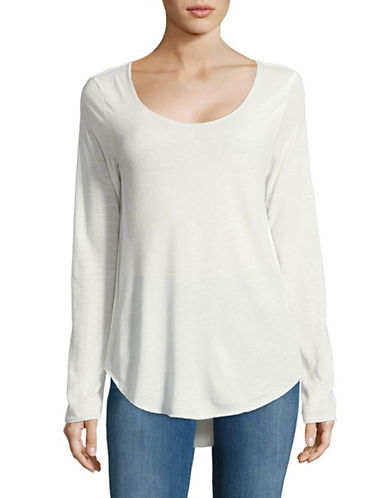 Vero Moda Lua Long Sleeve Top-WHITE-X-Small 88911475_WHITE_X-Small