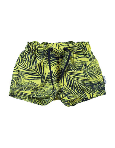 Name It Printed Swim Shorts-YELLOW-6