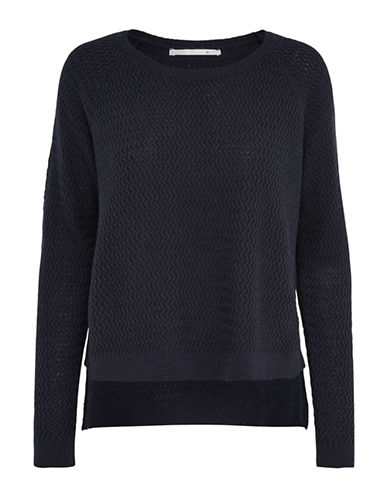 Only onlNEVADA Ribbed Pullover-BLUE-Small 88748838_BLUE_Small