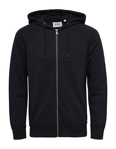 Only And Sons Frede Full-Zip Hoodie-BLACK-Large 88423462_BLACK_Large
