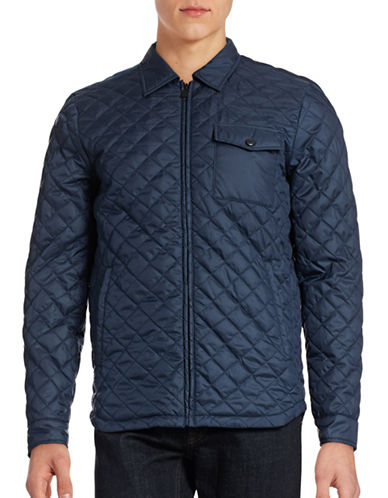 Only And Sons Josep Quilted Jacket-BLUE-X-Large 88448245_BLUE_X-Large