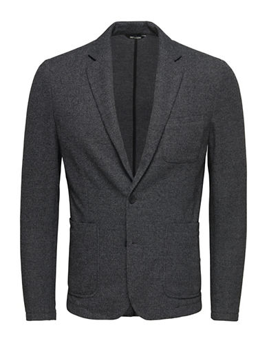 Only And Sons Jersey Blazer-MEDIUM GREY-Large 88448259_MEDIUM GREY_Large