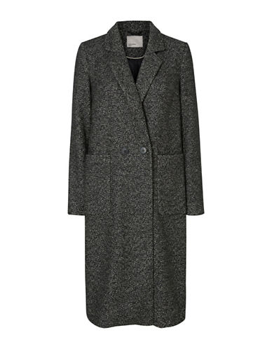 Vero Moda Tyra Wool-Blend Coat-BLACK-X-Small 88679165_BLACK_X-Small