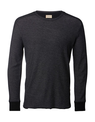 Selected Homme Robin Crew Neck Sweater-GREY-X-Large 88573539_GREY_X-Large