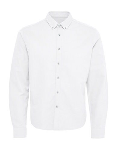 Only And Sons Sebastian Oxford Shirt-WHITE-XX-Large