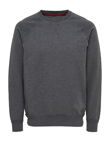 Only And Sons Frede Crew Neck Sweatshirt-DARK GREY-X-Large 88423438_DARK GREY_X-Large