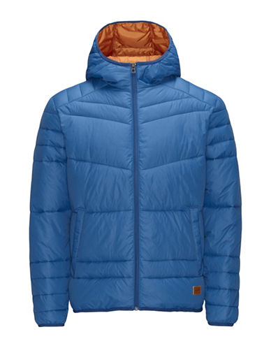 Jack & Jones Quilted Puffer Jacket-BLUE-Small 88605269_BLUE_Small