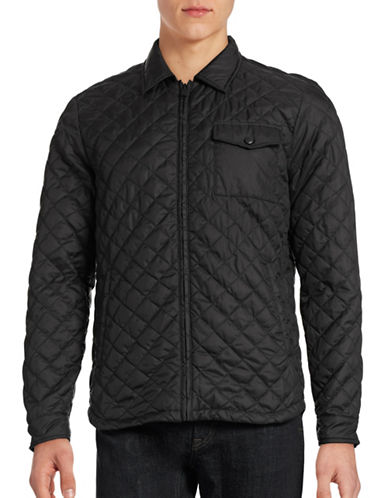 Only And Sons Josep Quilted Jacket-BLACK-Large 88448254_BLACK_Large