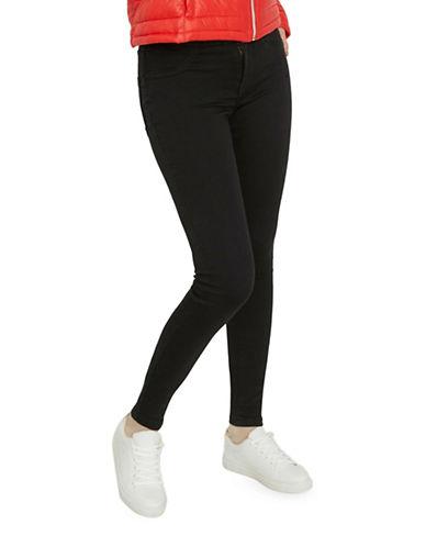 Vero Moda Majse Slim-Fit Denim Pants-BLACK-Medium 88861211_BLACK_Medium