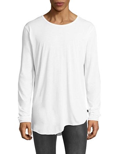 Tiger Of Sweden Roy Long Sleeve Finger Hole T-Shirt-WHITE-Large 89152976_WHITE_Large