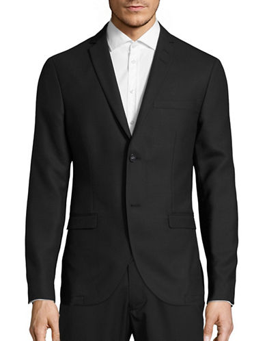 Tiger Of Sweden Jil 4 BZ Slim Sportcoat-BLACK-EU 48/US 38
