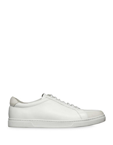 Tiger Of Sweden Arne Leather Sneakers-WHITE-EU 43/US 10