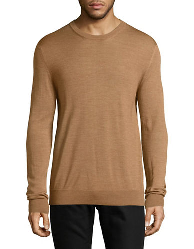 Tiger Of Sweden Silk And Wool Crew Sweater-NATURAL-Small