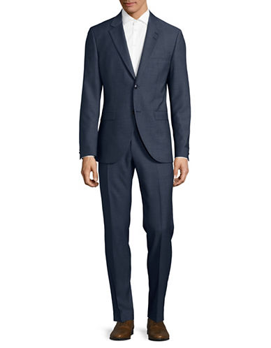 Tiger Of Sweden Wool-Blend Suit-NAVY-EU 48/US 38