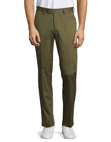 Tiger Of Sweden Slim Stretch Pants-GREEN-32