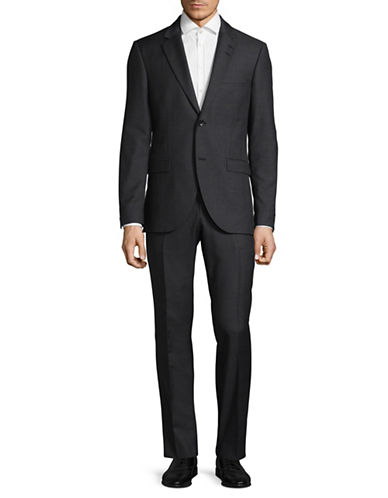 Tiger Of Sweden Wool-Blend Suit-BLUE-EU 52/US 42