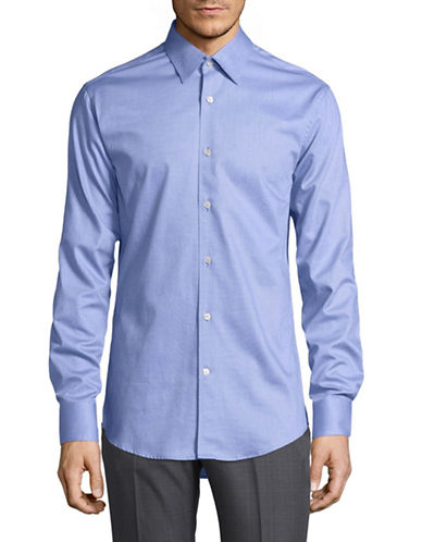 Tiger Of Sweden Farrell Sport Shirt-BLUE-EU 39/US 15.5