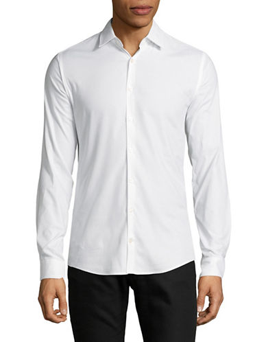 Tiger Of Sweden Extra Slim-Fit Cotton Shirt-WHITE-EU 39/US 15.5