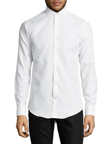 Tiger Of Sweden Farrell 5 Slim-Fit Sport Shirt-WHITE-EU 42/US 16.5
