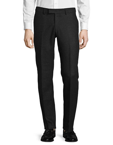 Tiger Of Sweden Tapered Speckle Wool-Blend Pants-GREY-32