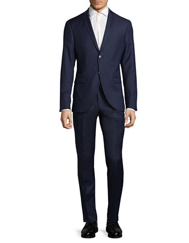 Tiger Of Sweden Classic Wool Suit-NAVY-EU 54/US 44