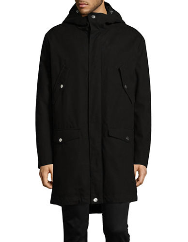 Tiger Of Sweden Classic Long Jacket-BLACK-EU 52/US 42