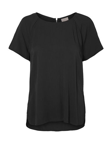 Vero Moda First Raglan Sleeve Top-BLACK-Medium 88604251_BLACK_Medium