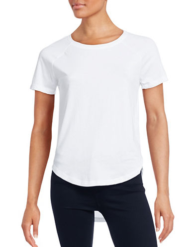 Noisy May Peter Short Sleeve Top-WHITE-X-Small