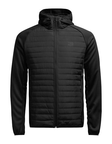 Jack & Jones Lightweight Quilted Jacket-BLACK-X-Large