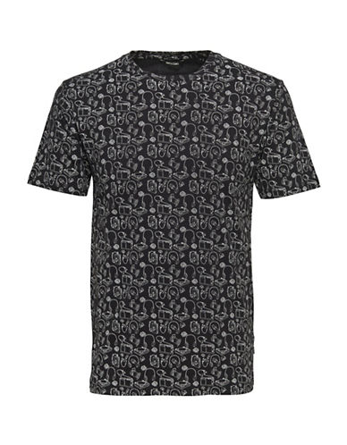 Only And Sons onsANDREAS Fitted Tee-BLACK-X-Large 88774342_BLACK_X-Large