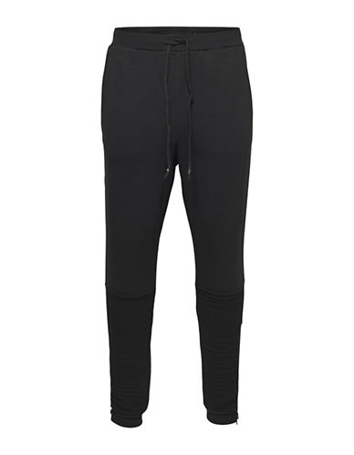 Only And Sons onsBALTIMORE Sweatpants-BLACK-Small 88774349_BLACK_Small