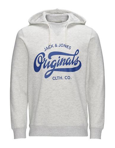 Jack & Jones Cotton Printed Hoodie-WHITE-Small 88605209_WHITE_Small
