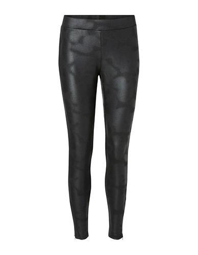 Vero Moda Mary Coated Leggings-BLACK-X-Small 88742941_BLACK_X-Small