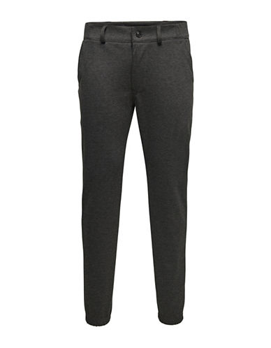 Only And Sons onsGEORGE CHINO SWEATPANTS-GREY-Large 88732373_GREY_Large