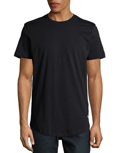 Jack & Jones Noa Crew Neck T-Shirt-BLACK-Large