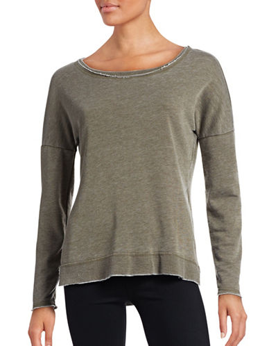 Only Sienna Long Sleeve O-Neck Sweater-GREY-Small 88665044_GREY_Small